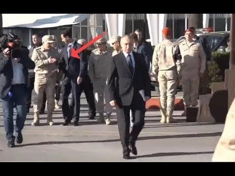 in a shaming moment Russian officers prevent Bashar al Assad follow Putin