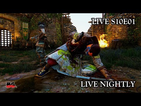✌️ For Honor - Trying out dedicated servers Live S10E01 02/19/2018