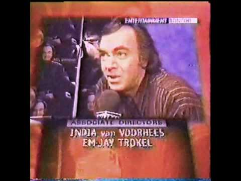 Neil Diamond Entertainment Tonight Promo for Virgin Records 3/7/96