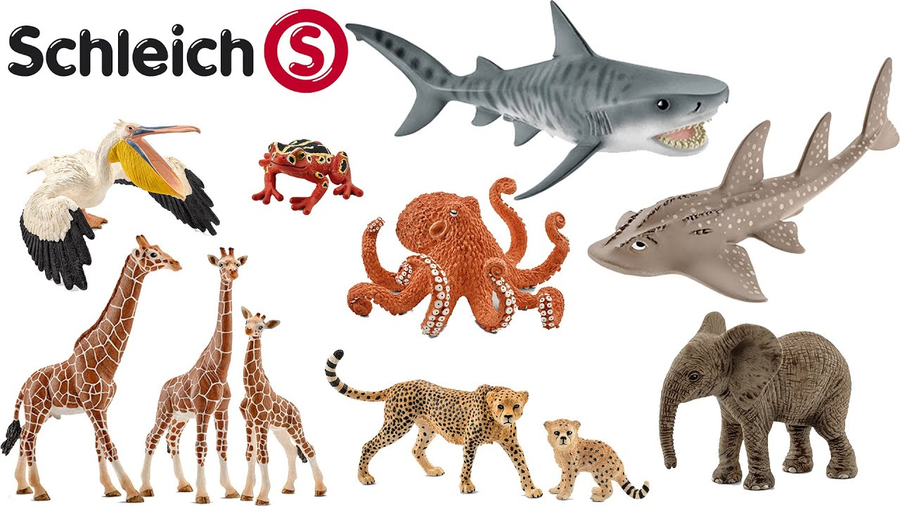 Schleich NEW Collection 2016 Wildlife Collector 39 s Review Animals ZOO
