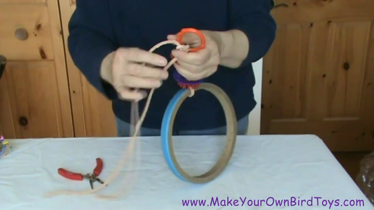 Make Your Own Bird Toys Quick And Easy Swing