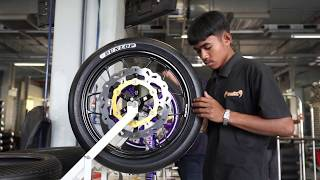 2018 Rd1 Story:  UB150 class Dunlop Moto3 Tyres