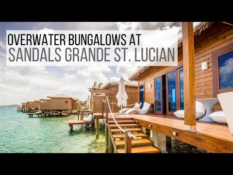 A Tour Of An Overwater Bungalow At Sandals Grande St