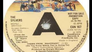 The Sylvers Theme From Mahogany Do You Know Where You're Going To 1979