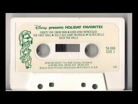Disney Presents Holiday Favorites Cassette 2