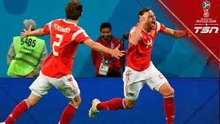 Russia Moves One Step Closer To Round Of 16 Berth With Dominant Win Over Egypt