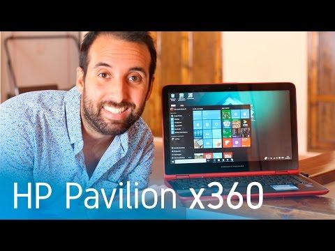 HP Pavilion x360, análisis en español