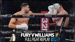 Full fight: Tommy Fury v Scott Williams