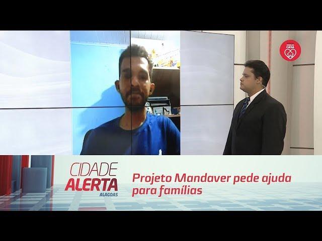 Projeto Mandaver pede ajuda para famílias em situação de vulnerabilidade