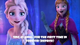 Karaoke Instrumental Sing as Anna- For the first time in forever (Reprise) Mp3