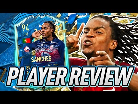THE REVIVAL! 💪 94 TOTSSF RENATO SANCHES PLAYER REVIEW! - FIFA 20 Ultimate Team
