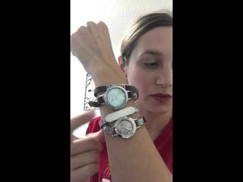 How To Put Together An Origami Owl Wrap Bracelet Youtube