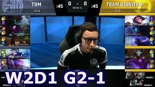tsm vs dignitas game 1   s7 na lcs spring 2017 week 2 day 1   dig vs tsm g1 w2d1