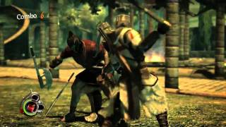 The Cursed Crusade action-adventure HD video game trailer - PS3 X360 PC