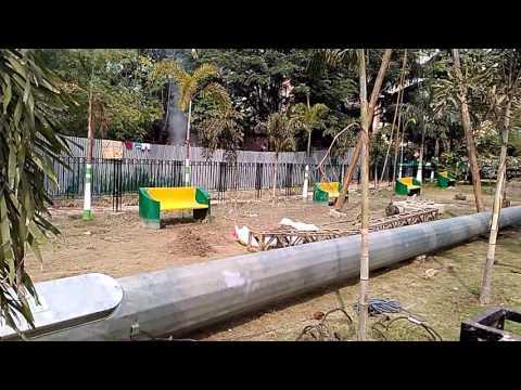 High Mast Light Pole installation ! India ! AK Engineers