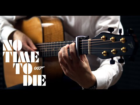 Billie Eilish - No Time to Die (James Bond Theme) - Guitar Cover by James Bartholomew