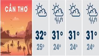 Tin Tức 24h Channel - Dự báo thời tiết 23 tháng 11/ thời tiết cuối tuần / thời tiết nam bộ