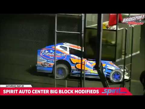 My Movie Bridgeport Speedway 5-26-2018 Rick Laubach Playing Cat and Mouse With Officals
