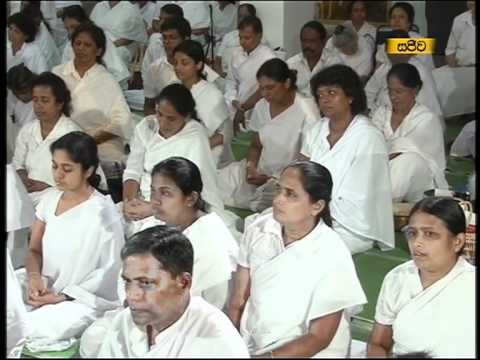 Poya Day Meditation in English and Sinhala