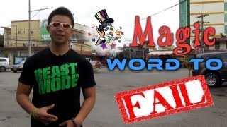 JESTER - Magic Word to Fail (click HD)