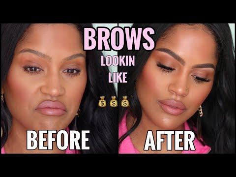BUSHY TO FIERCE Eyebrow Routine | MAKEUPSHAYLA