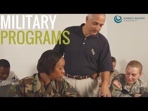 Hawaii Pacific University Military Programs