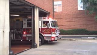 Raleigh FD - Apparatus Leaving Station 1