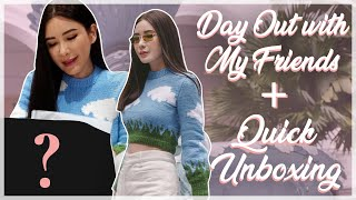DAY OUT WITH FRIENDS + LITTLE UNBOXING | JAMIE CHUA