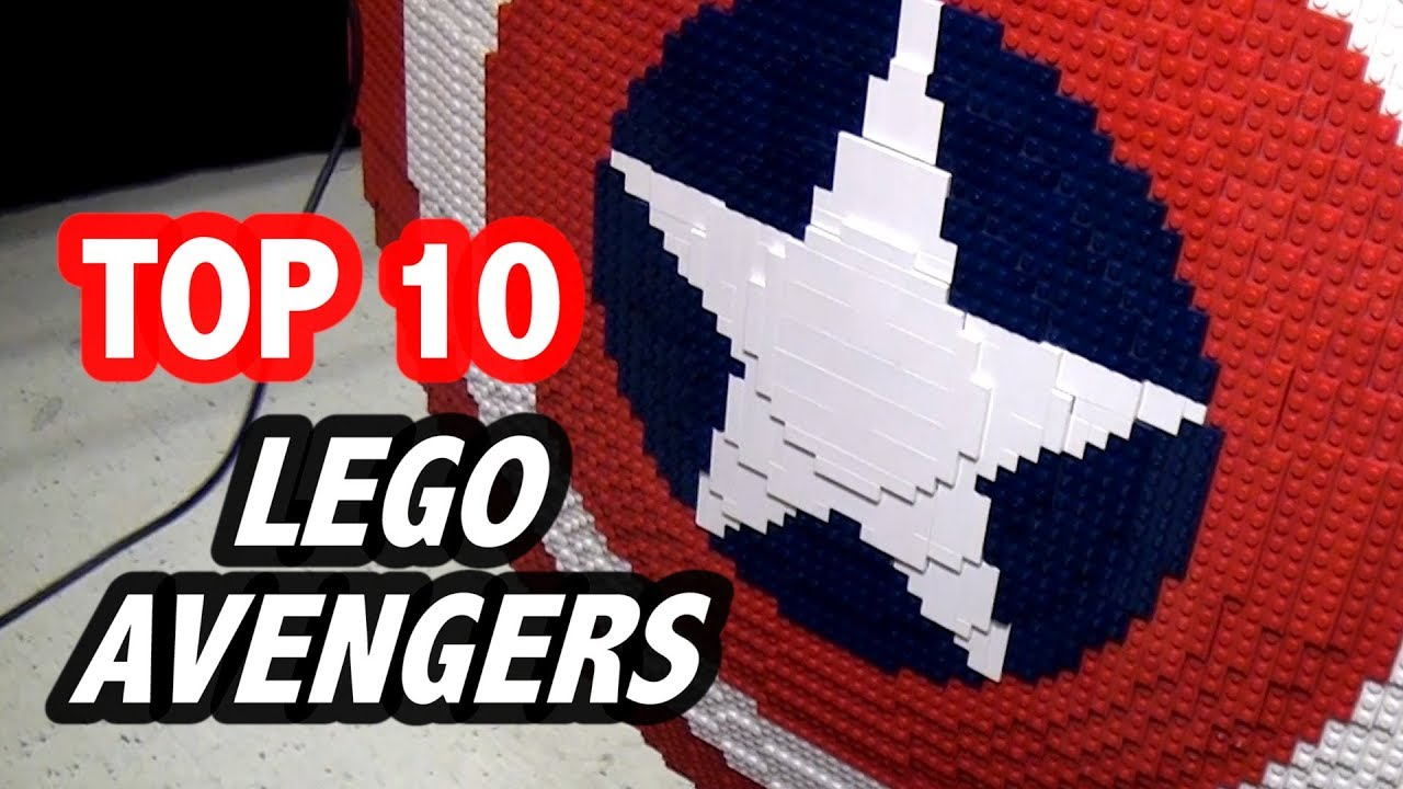 Download Top 10 Epic LEGO Marvel Avengers Creations!