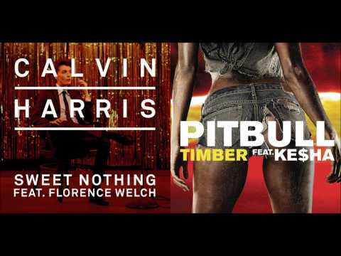 Calvin Harris ft. Florence Welch x Pitbull ft. Ke$ha - Sweet Timber (Mashup)