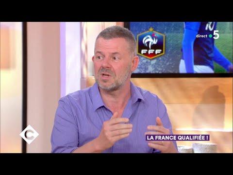 Football : France - Pérou. Le débrief avec Eric Naulleau - C à Vous - 21/06/2018