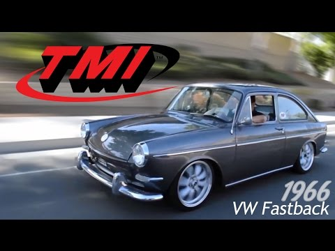 1966 VW FastBack - TMI Products Sport VXR Interior