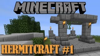 Monkeyfarm Plays HermitCraft #1 - Minecraft