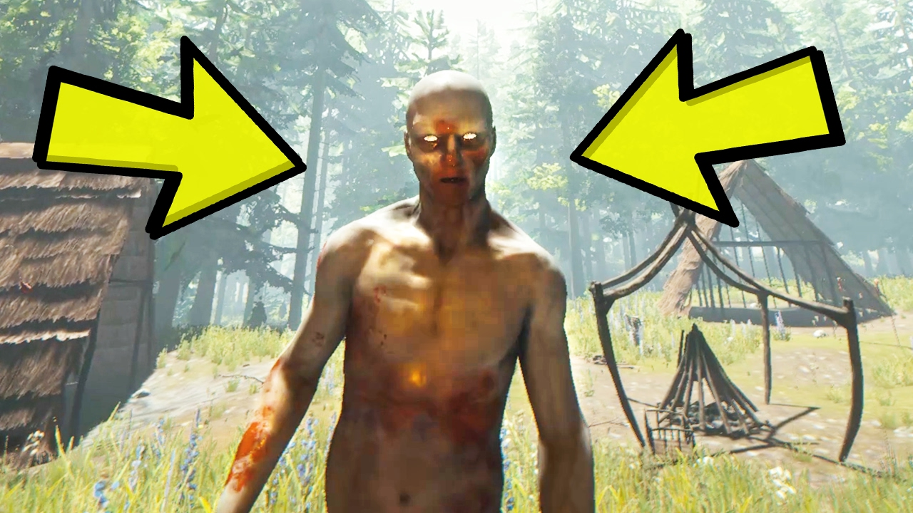 Scariest Moment In A Video Game The Forest Gameplay 8