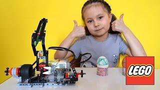 DIY Пасхальные яйца своими руками с помощью Lego Mindstorms EV3