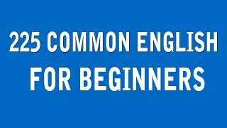 I Want To Learn English - Daily Common English Easy For Beginners