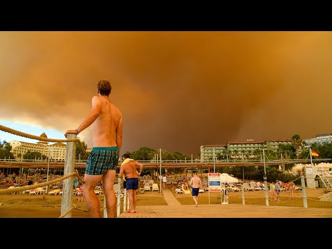 Türkei: Mindestens drei Tote bei Waldbränden in Antalya | AFP
