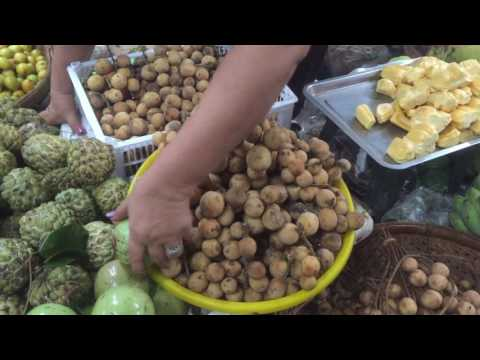 Life In Market, Cambodian Market, Market Food In Asia