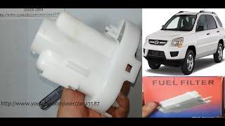 Kia Sportage Change Fuel Filter