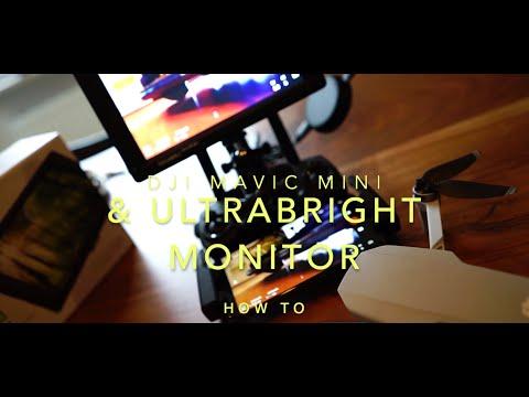 DJI Mavic Mini With External Monitor / High Brightness