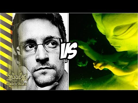 Snowden on Alien Contact - What did he REALLY say about Space Aliens?