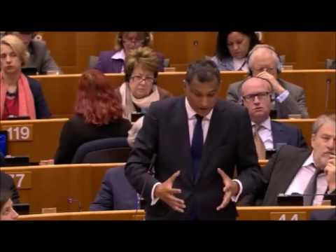 Syed Kamall addresses the European Parliament on Brexit