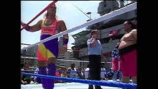 Yokozuna (Heavyweight Champion) Bodyslam Challenge HD - Jul. 1993