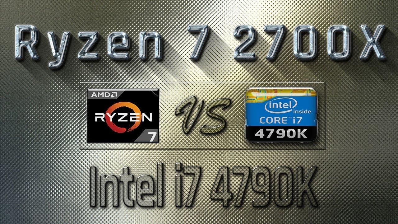 Ryzen 7 2700X vs i7 4790K Benchmarks | Gaming Tests Review & Comparison