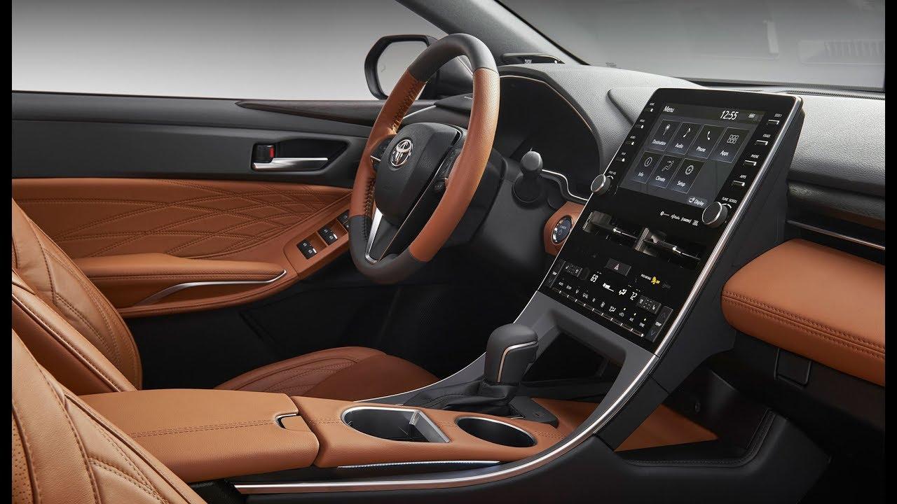2019 toyota avalon touring  u0026 limited hybrid interior