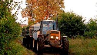 Żniwa 2014 - Ursus 1614 & 2x HL8011 26 ton