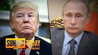 Trump Set For Summit With Putin After 12 Russians Charged With Hacking Democrats   Sunday TODAY