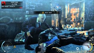 Hitman Absolution Gameplay - GT 210 & Pentium E2180 [HD]