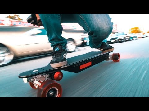 INSANE Electric Skateboard - 6000 WATT