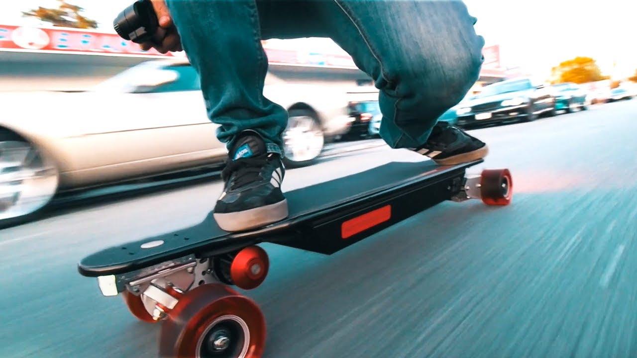 INSANE Electric Skateboard  6000 WATT  YouTube